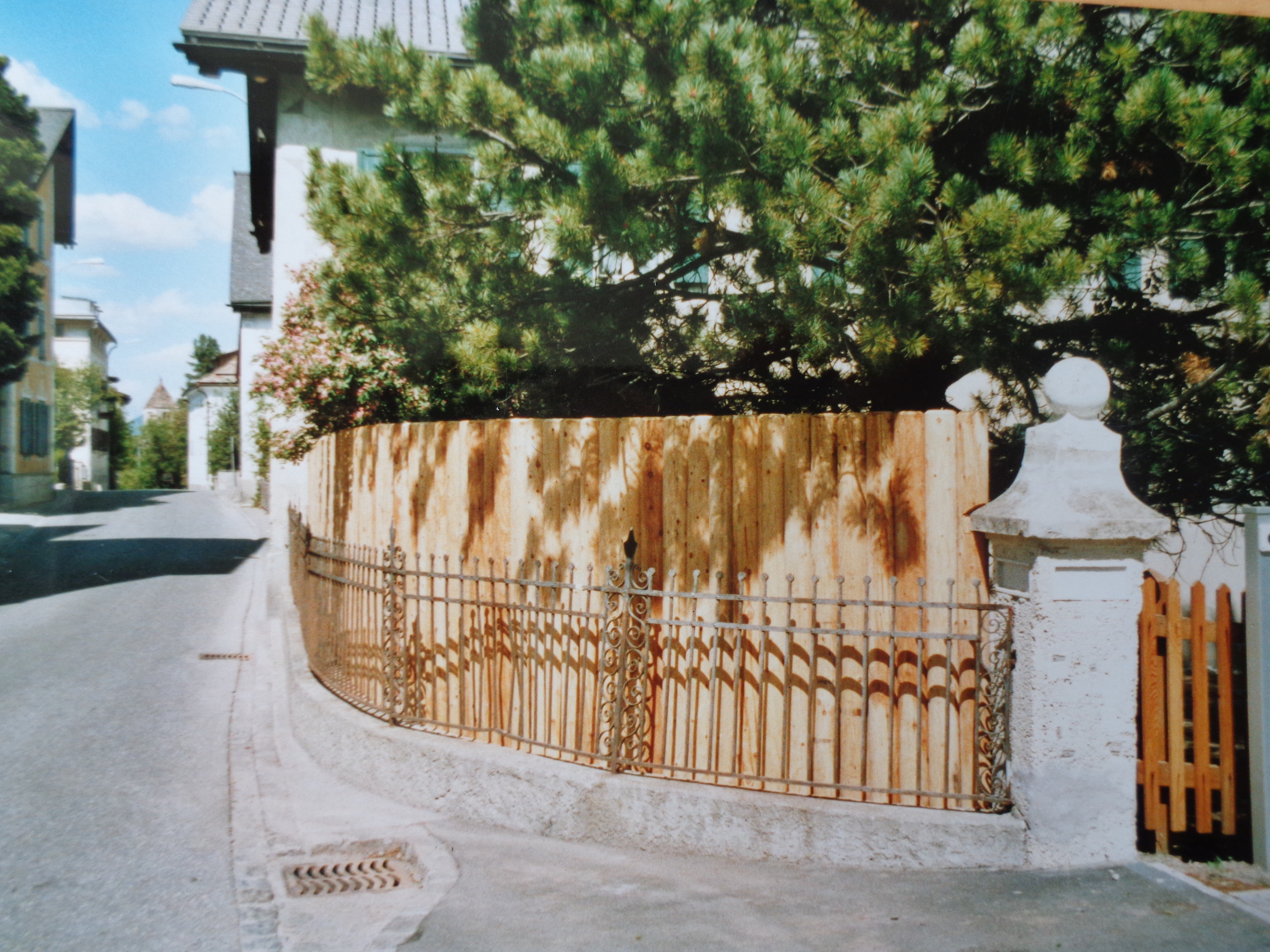 palisadenzaun - albula-holzprodukte